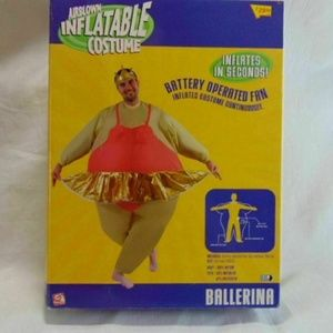 Gemmy Inflatable Costume Ballerina Air Blown New